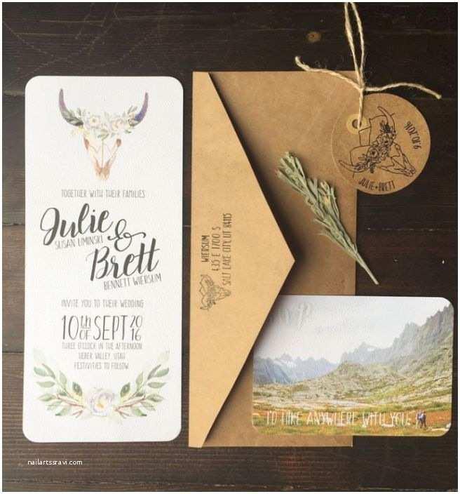 Wedding Invitations Utah 17 Best Ideas About Mountain Wedding Invitations On