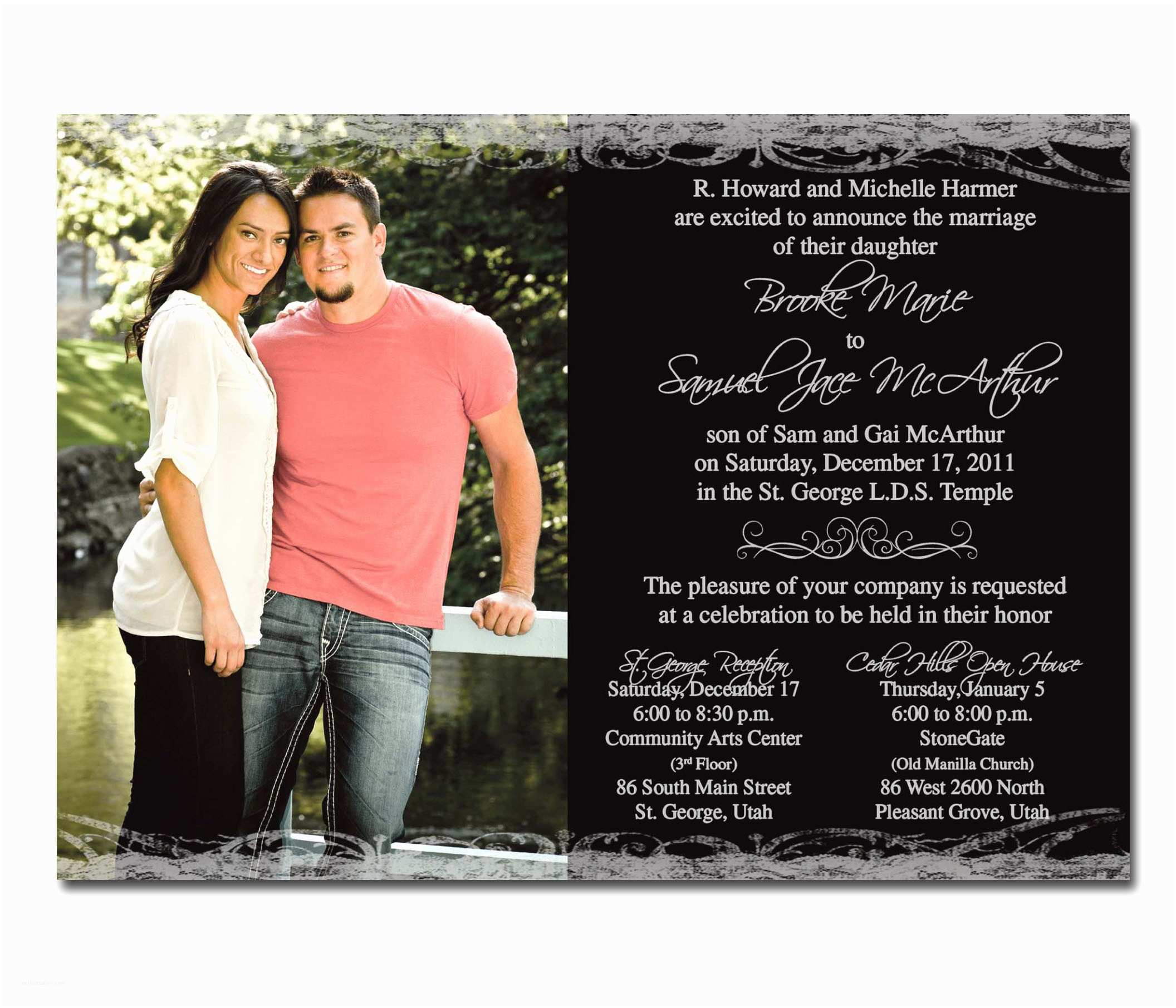 Wedding Invitations Utah Cheap Wedding Invitations Utah Image Collections Baby