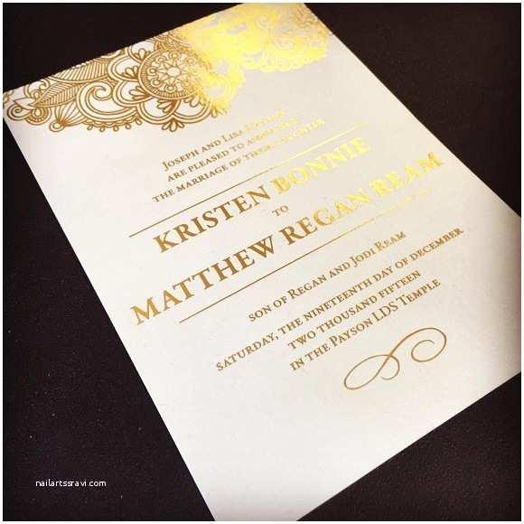 Wedding Invitations Utah Utah Wedding Announcements