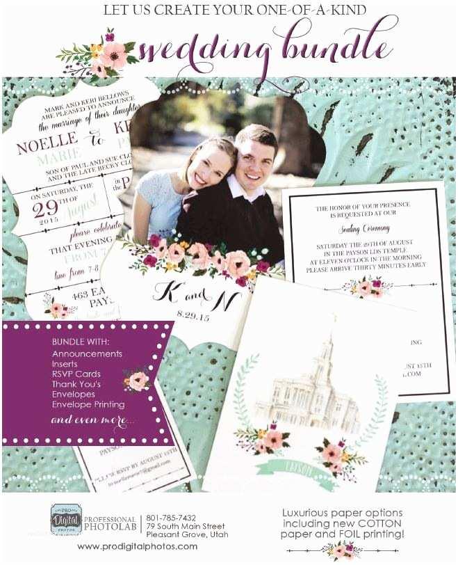 Wedding Invitations Utah Utah Wedding Invitations Pro Digital S Salt Lake