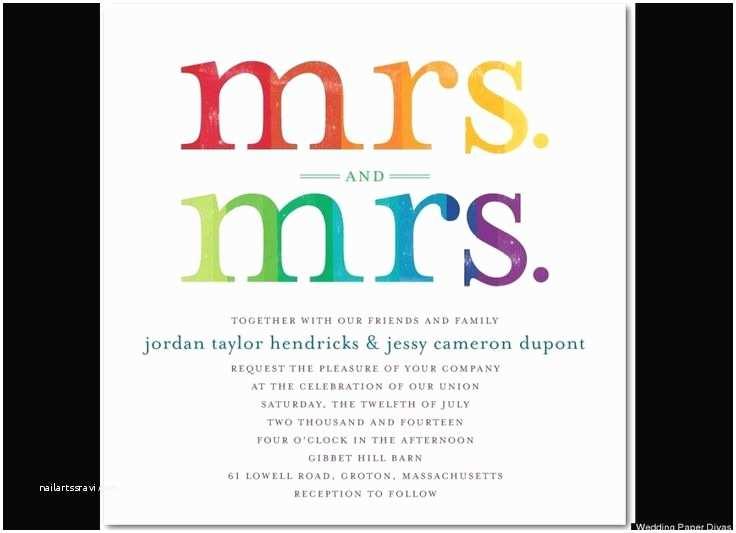 Wedding Invitations Westchester Ny 8 Best Rainbow Wedding Images On Pinterest