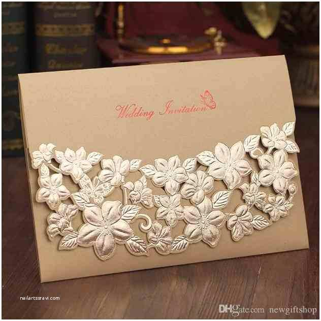 Wedding Invitations wholesale Suppliers Laser Print Rhourideas Vintage Bronzing Creative Cards