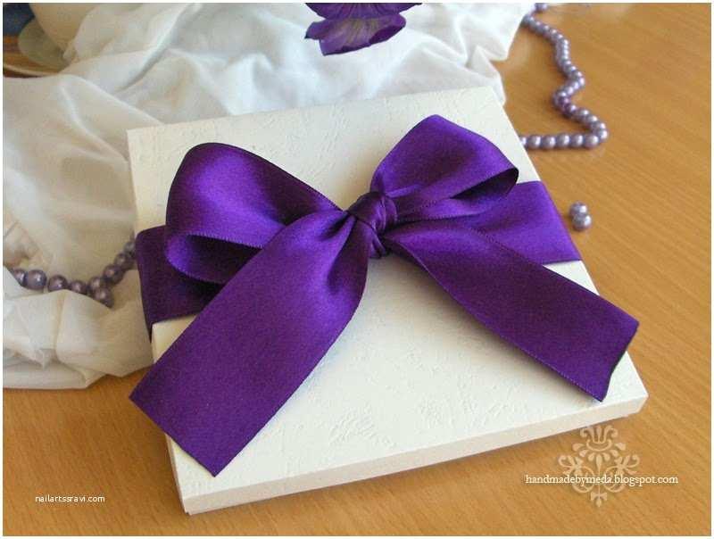 Wedding Invitations with Bows Wedding Invitations A Year Of Purple Invitatii De Nunta
