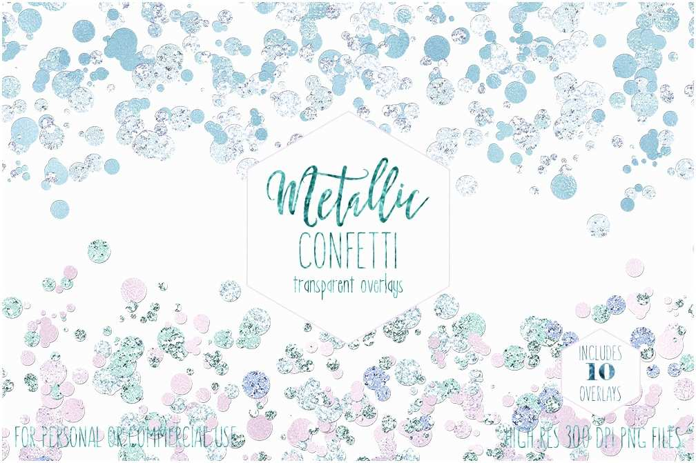 Wedding Invitations with Clear Overlay Blush Pink Confetti Overlay Clipart Mercial Use Clip