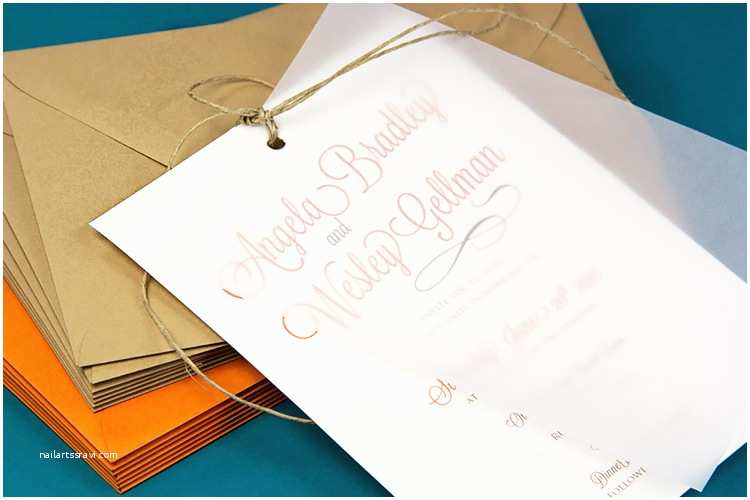 Wedding Invitations with Clear Overlay Decorative Ways to Secure Vellum to Invitations without Glue