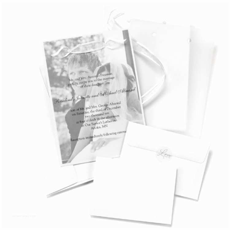 Wedding Invitations with Clear Overlay Diy Wedding Invitations 25 Overlay Invitations