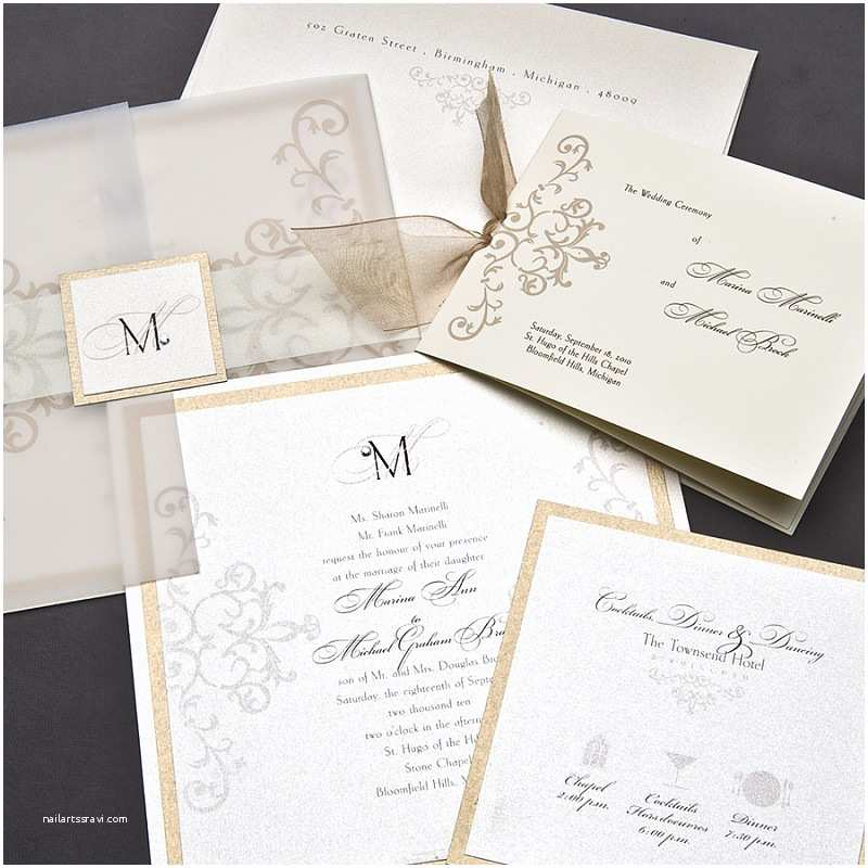 Wedding Invitations with Clear Overlay Festivites Studio Unique Custom Designed Wedding