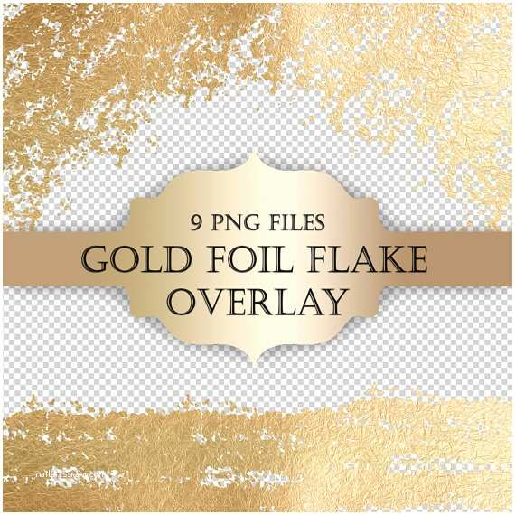 Wedding Invitations with Clear Overlay Gold Foil Flake Digital Clip Art Overlay Gold Foil Glitter