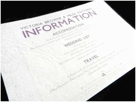 Wedding Invitations with Photo Insert Information Card Inserts for Wedding Invitations 20