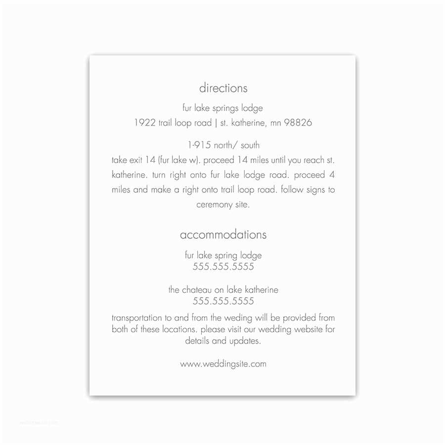 Wedding Invitations with Photo Insert Wedding Invitation Insert Cards Various Invitation Card