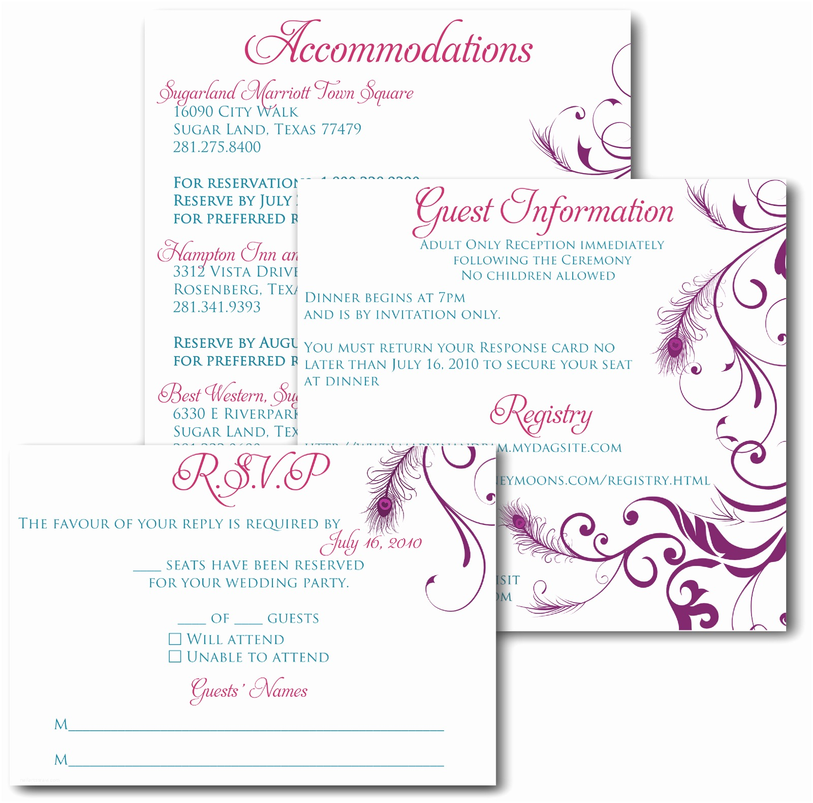 Wedding Invitations with Photo Insert Wedding Invitations and Inserts Google Search