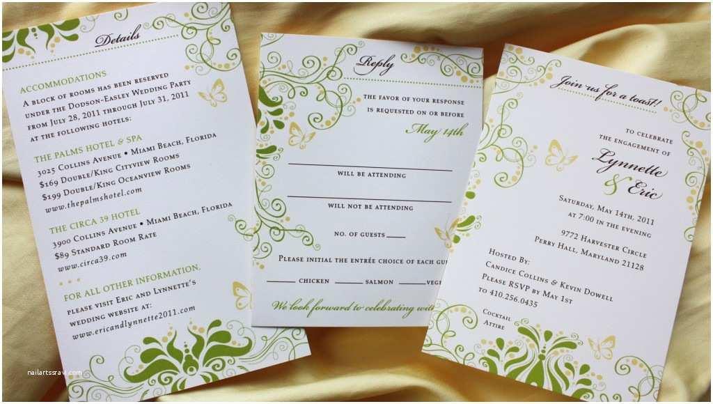 Wedding Invitations with Photo Insert Wedding Invitations with Insert Yaseen for