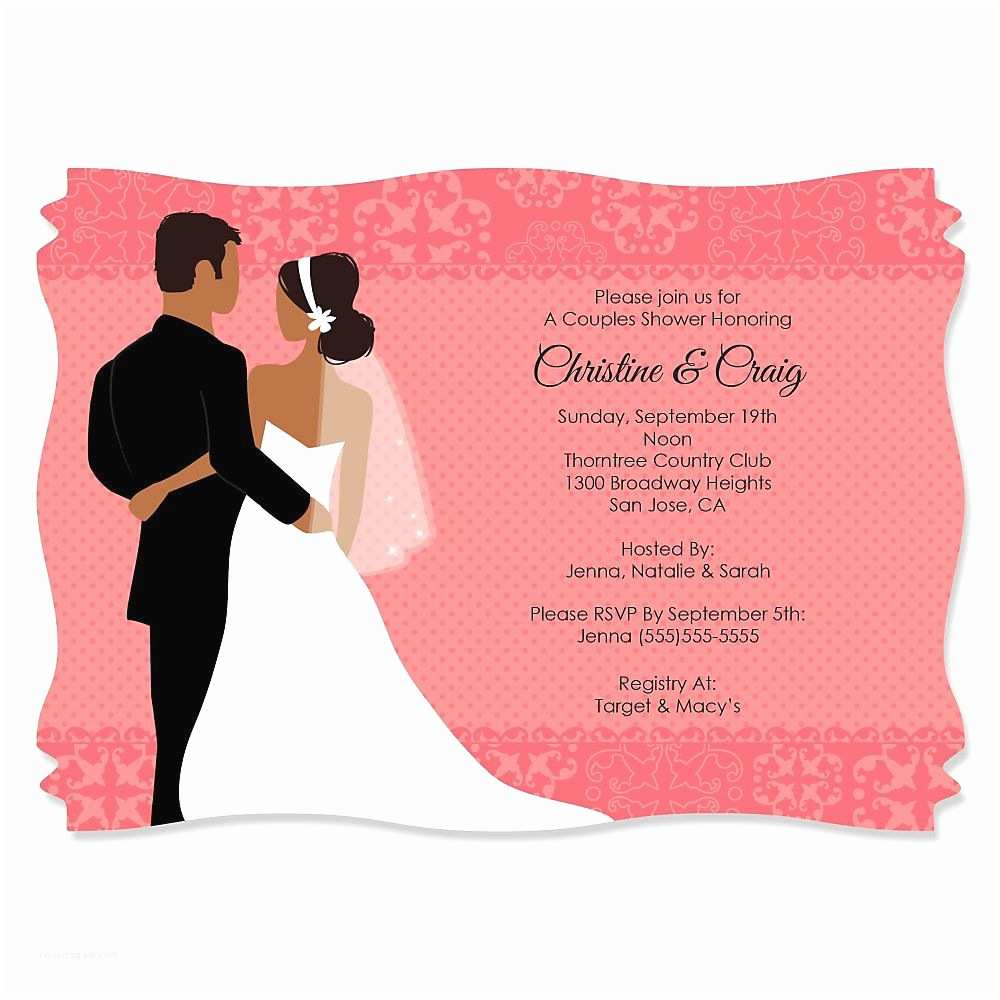 Wedding Invitations With Pictures Of Couple  Template Graduation Invitation Template