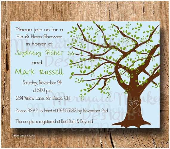 Wedding Invitations with Pictures Of Couple Couples Shower Invitation Wedding Shower by