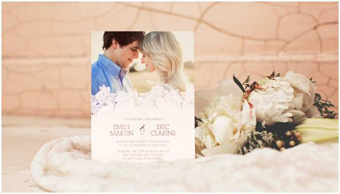 Wedding Invitations With Pictures Of Couple Top 10 New Wedding Invitations Featuring