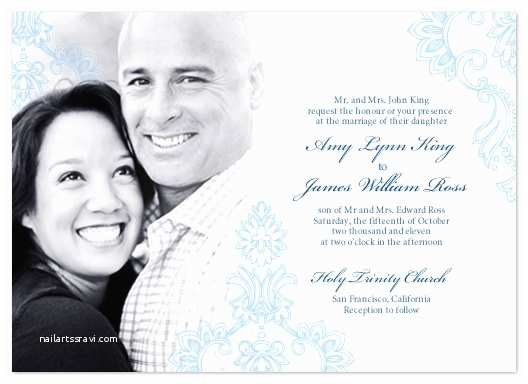 Wedding Invitations With Pictures Of Couple Wedding Invitations The Happy Couple At