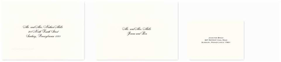 Wedding  With Response Cards And Envelopes How Do You Address Inner Envelopes For Wedding