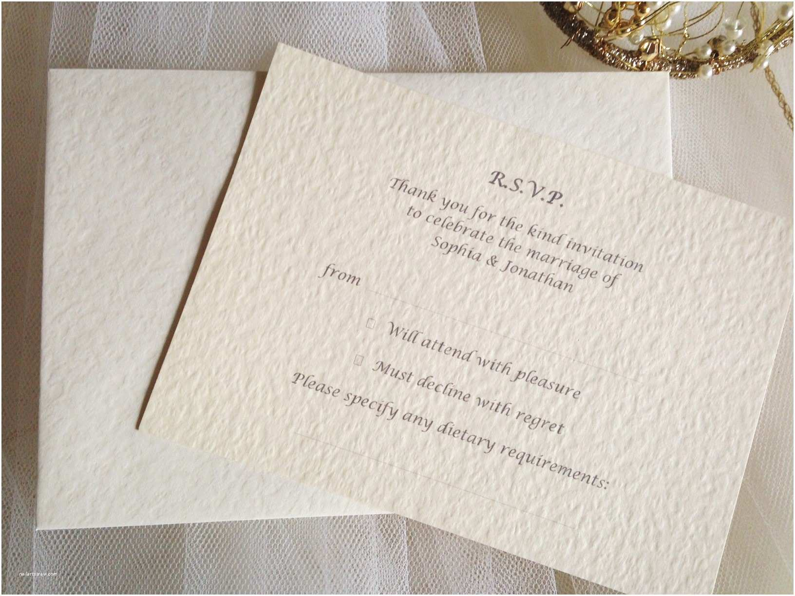 Wedding Invitations With Response Cards And  Rsvp Cards And