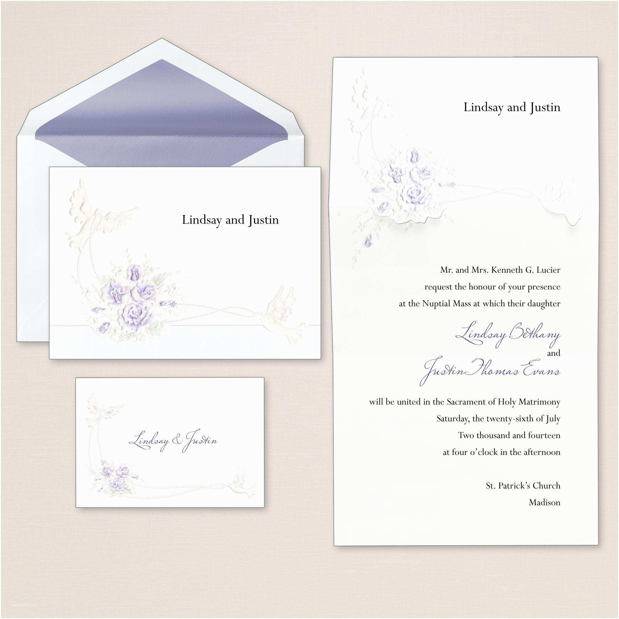 Wedding Invitations With  Cards And Envelopes Wedding Invitation Wedding Invitations And