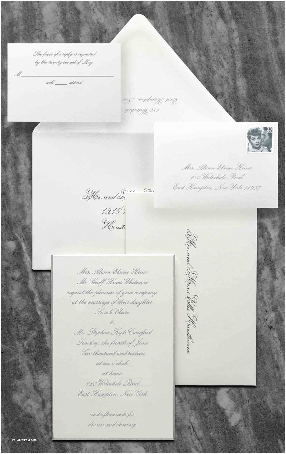 Wedding Invitations with Response Cards and Envelopes Wedding Invitations with Response Cards and Envelopes