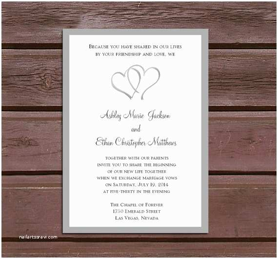 Wedding Invitations With Rsvp And  Cards 50 Hearts Wedding Invitations Rsvp S