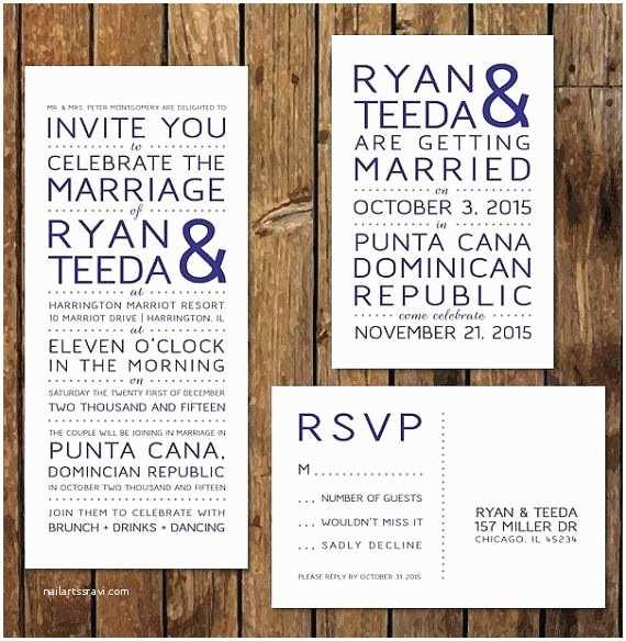 Wedding Invitations With Rsvp And Reception Cards Diy Custom Printable Reception Invitations & Rsvp