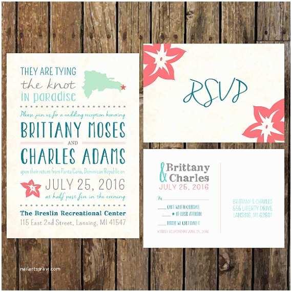 Wedding Invitations With Rsvp And Reception Cards Diy Custom Reception Invitations & Rsvp