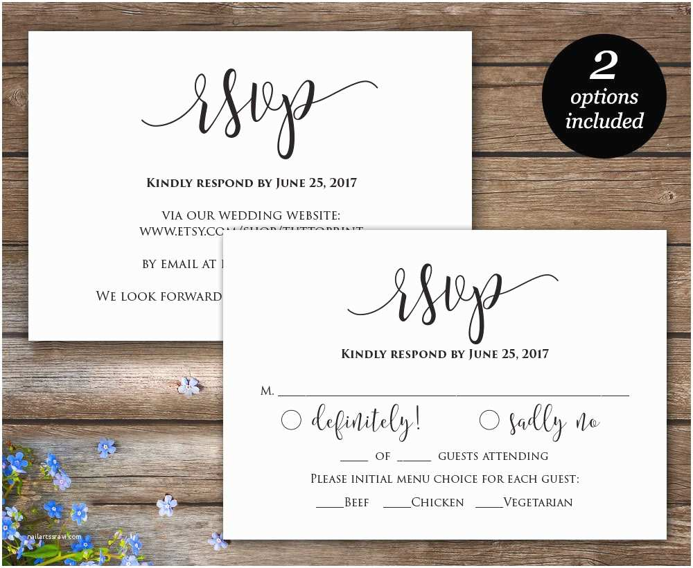 Wedding Invitations With Rsvp And Reception Cards Invitations Endearing Rsvp Wedding Cards
