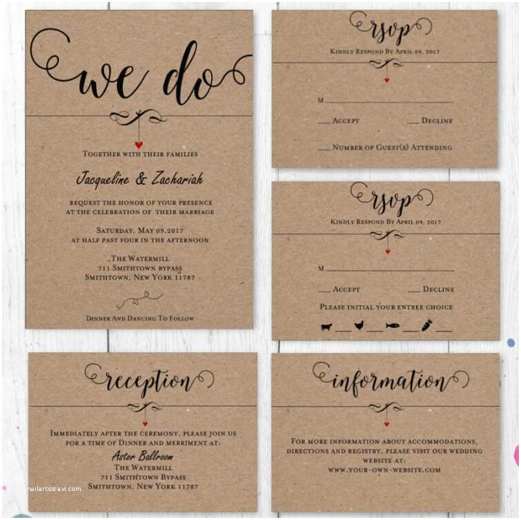 Wedding Invitations With Rsvp And Reception Cards Pare Prices On Wedding Reception Invitations