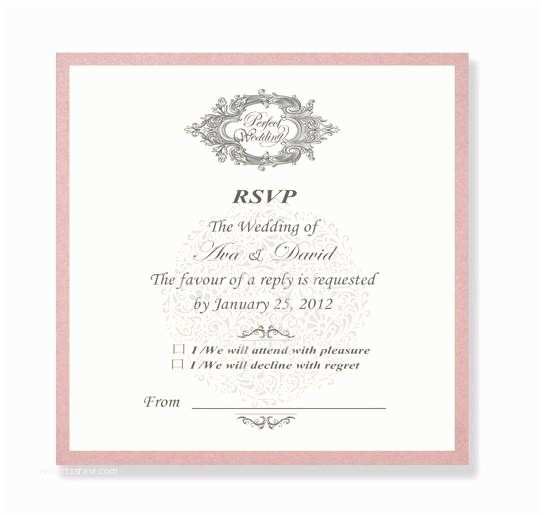 Wedding Invitations with Rsvp Cards Included Wedding Invitations with Rsvp Cards