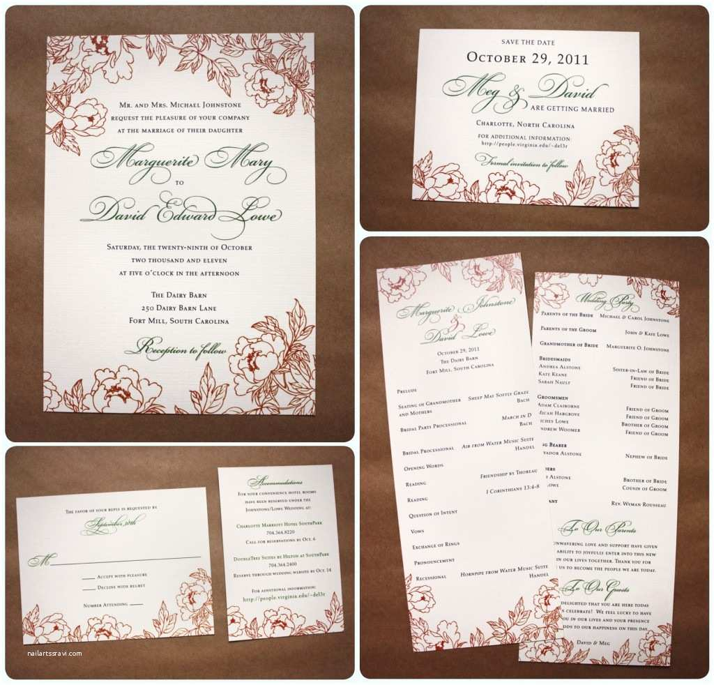 Wedding Invitations with Rsvp Cards Wedding Invitations with Rsvp Cards Various Invitation