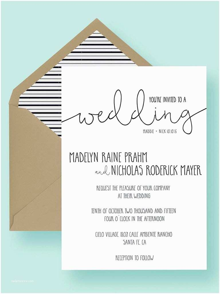 Wedding Invite Directions Template 16 Printable Wedding Invitation Templates You Can Diy