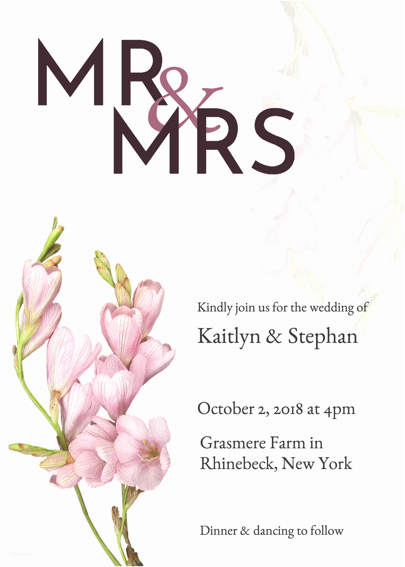 Wedding Invite Directions Template 19 Diy Bridal Shower and Wedding Invitation Templates