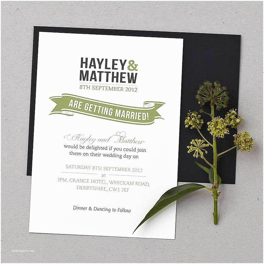 Wedding Invite Directions Template Baker Street Wedding Invitation Set by Doodlelove
