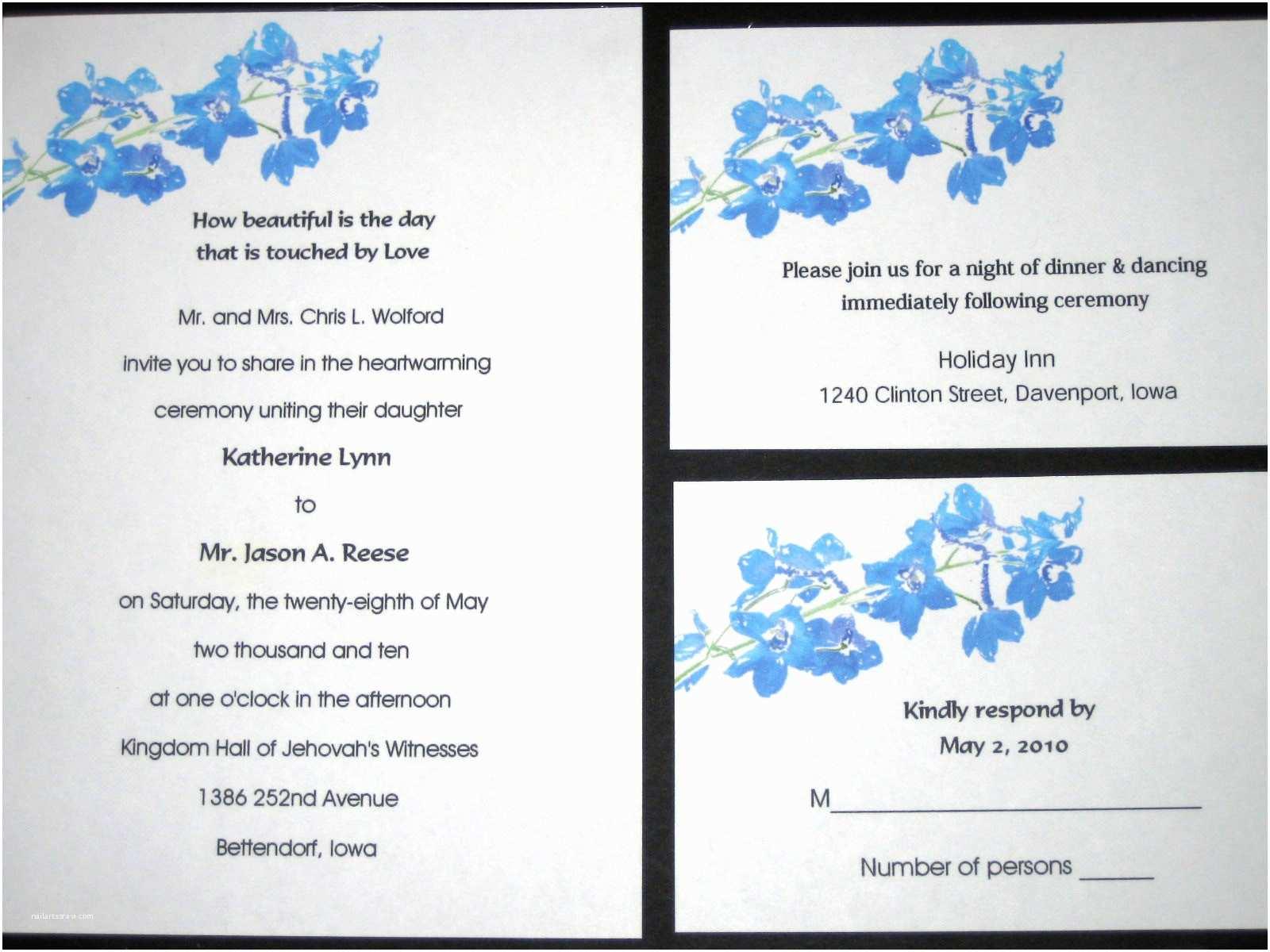 Wedding Invite Directions Template Best Wedding Invitation Sample