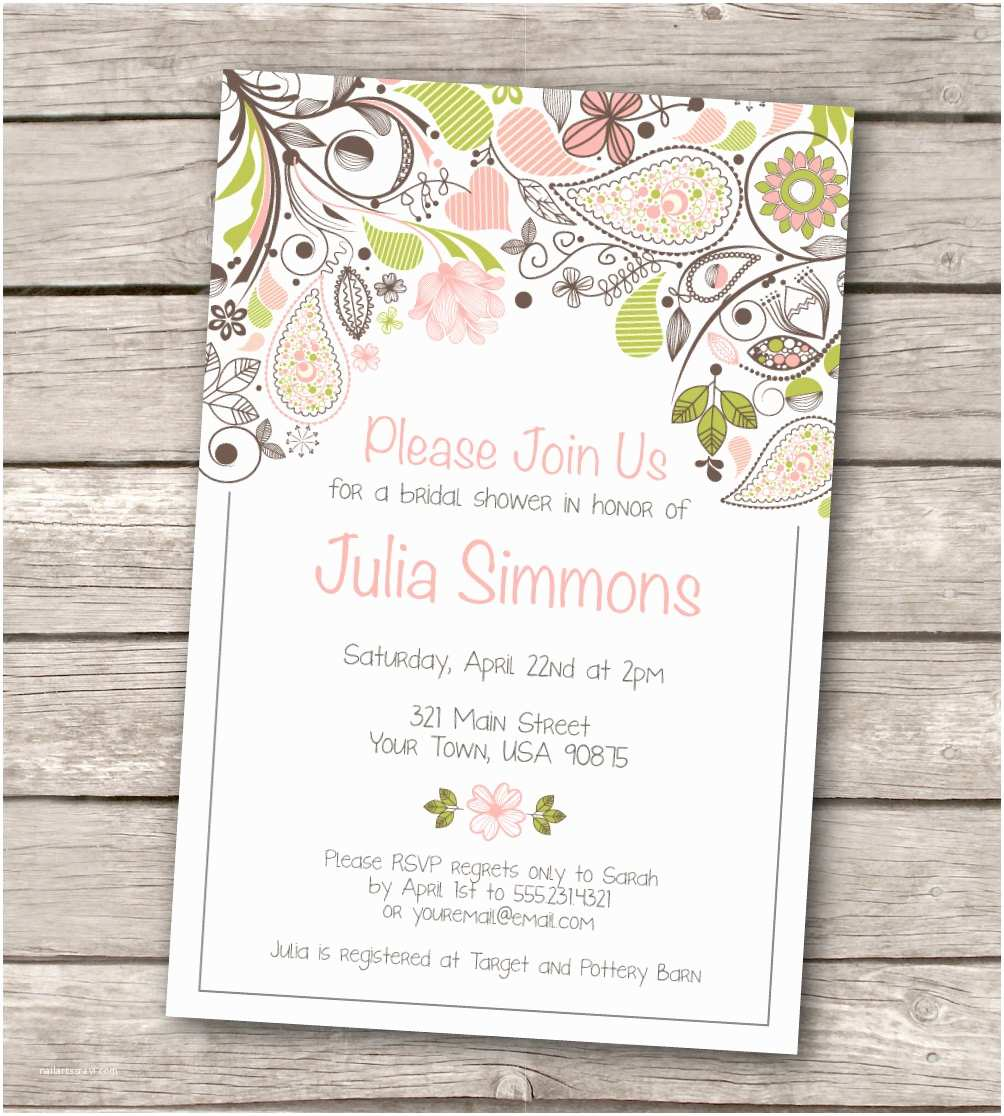 Wedding Invite Directions Template Free Rustic Wedding Invitation Templates