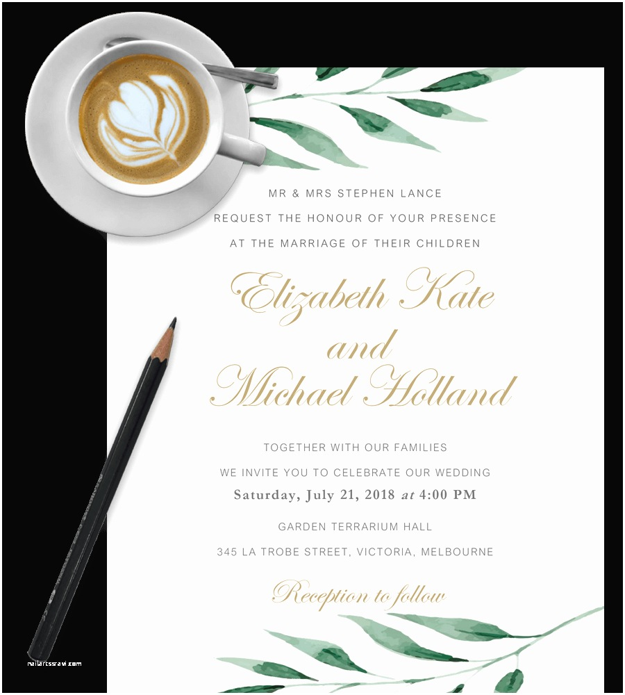 Wedding Invite Directions Template Free Wedding Invitation Templates In Word [download