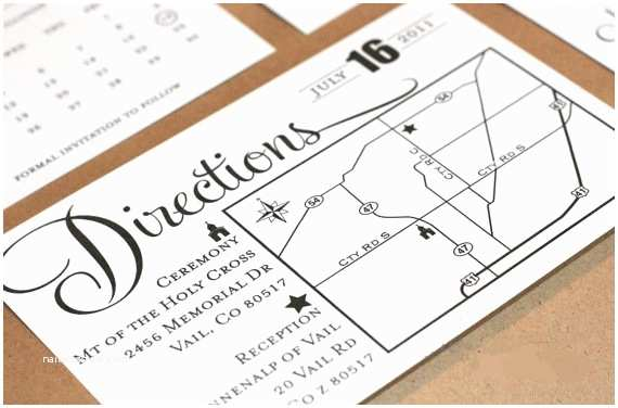 Wedding Invite Directions Template Information Avaiable Direction Cards for Wedding