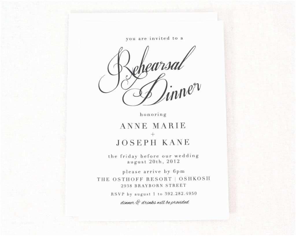 Wedding Invite Directions Template Rehersal Dinner Invitations Template No2powerblasts
