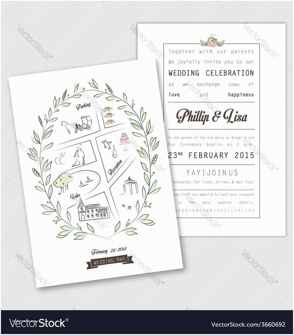 Wedding Invite Directions Template Wedding Invitation Map New Wedding Invitation Template