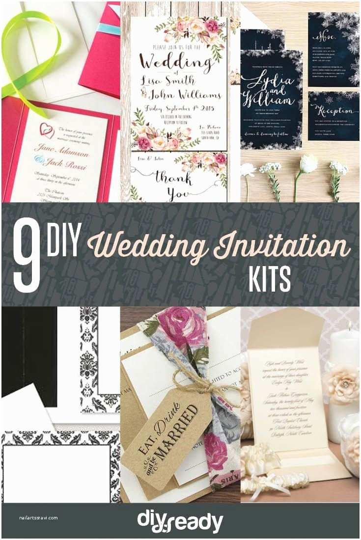 Wedding Invite Kits Do Yourself Best 25 Diy Wedding Invitation Kits Ideas On