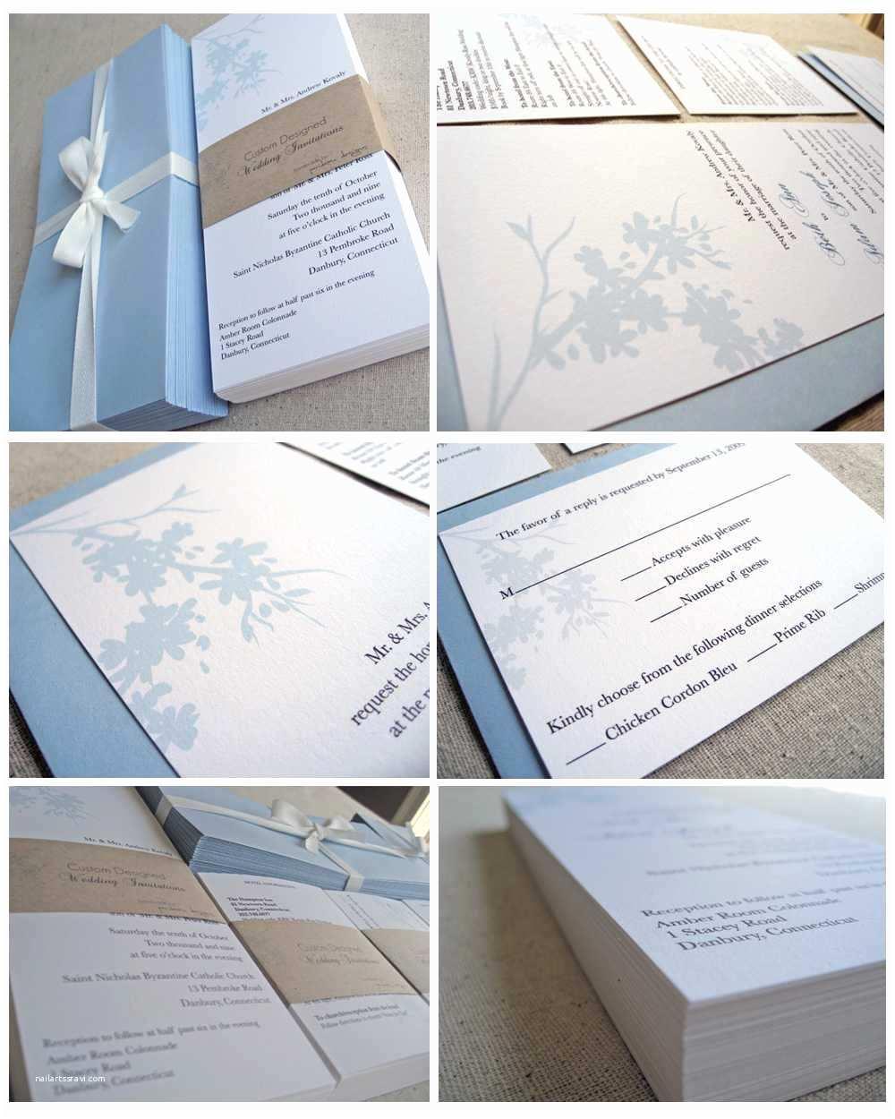 Wedding Invite Kits Do Yourself Black Wedding Invitations Wedding Invitation Kits