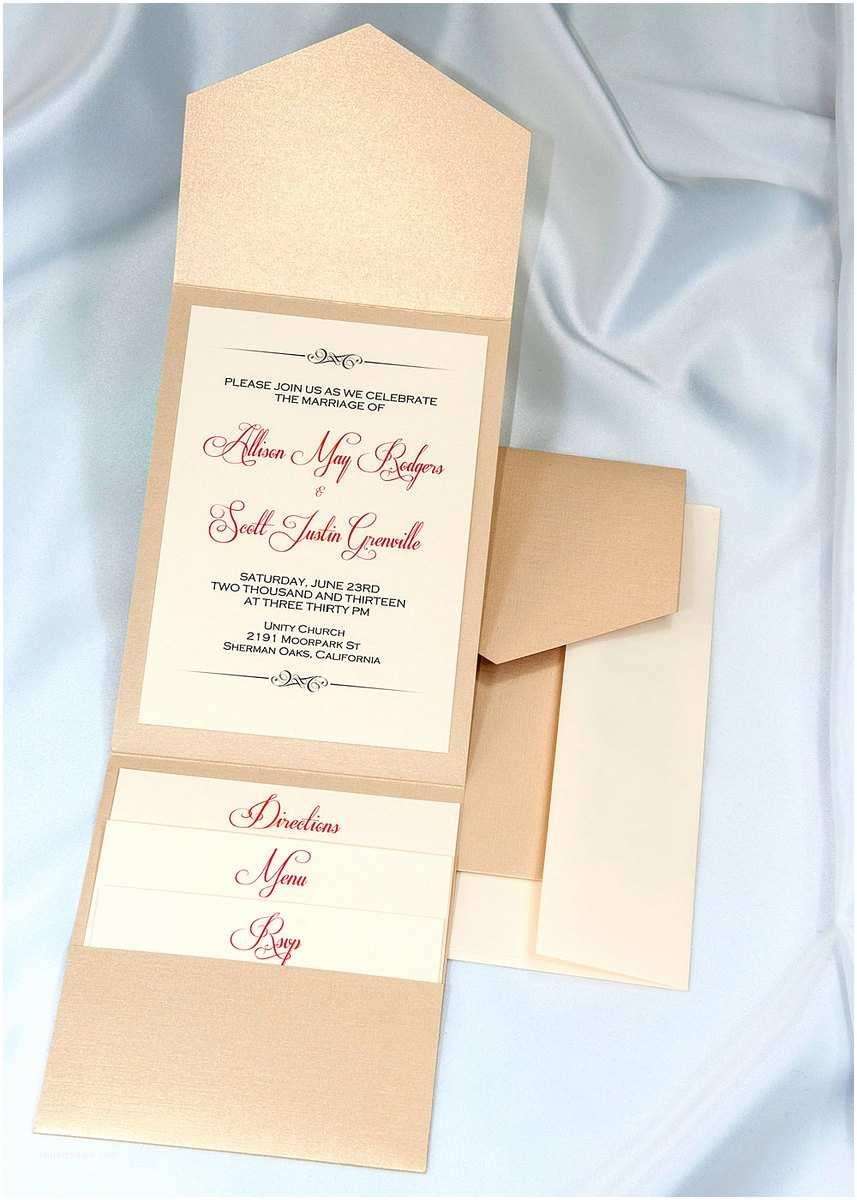 Wedding Invite Kits Do Yourself Pocket Wedding Invitation Kits Do It Yourself Yaseen