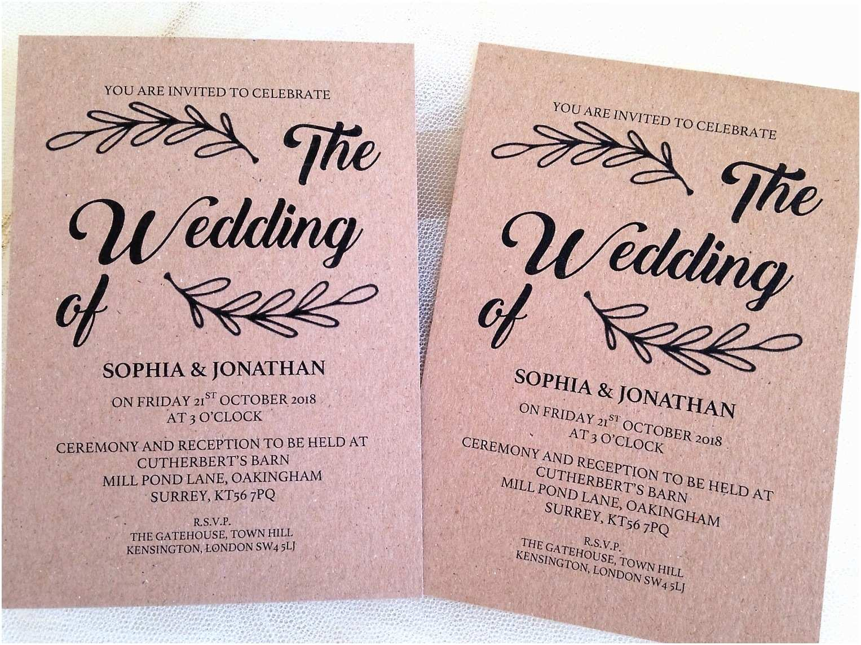 Wedding Party Invitations Wreath Wedding Invitations Wedding Invites