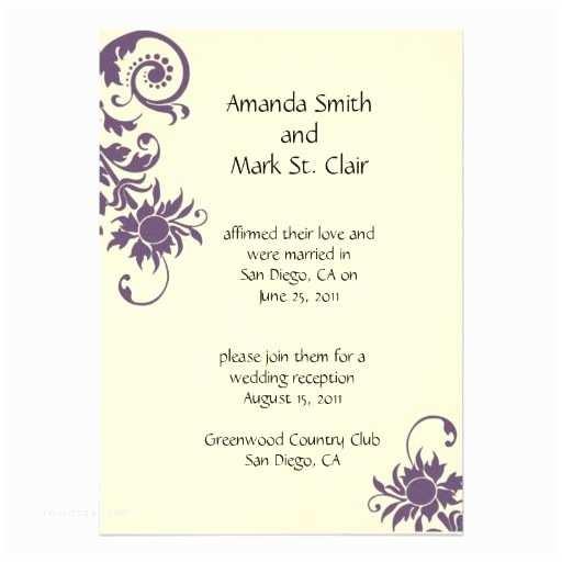 Wedding Reception Invitation 1000 Ideas About Ivory Wedding Invitations On Pinterest