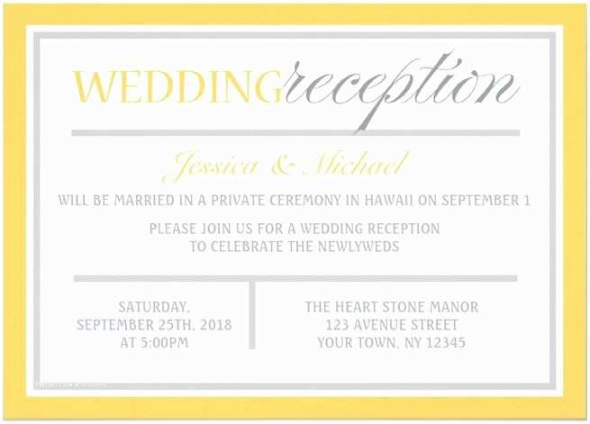 Wedding Reception Invitation Marriage Invitation Email Sample to Colleagues Yaseen for