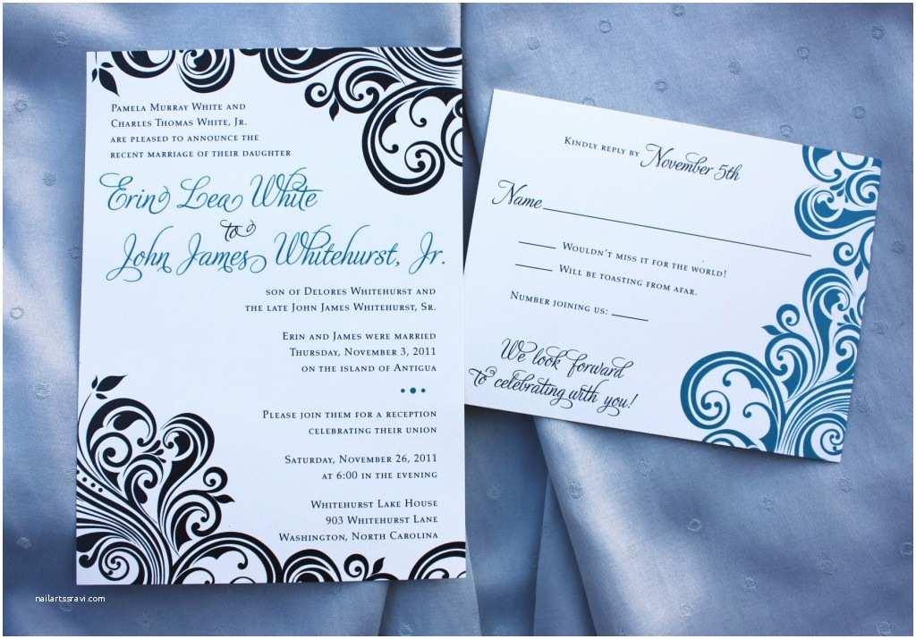 Wedding Reception Invitation Quotes Pre Wedding Party Invitation