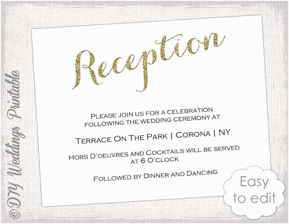 Wedding Reception Invitation Quotes Wedding Reception Invitation Wording