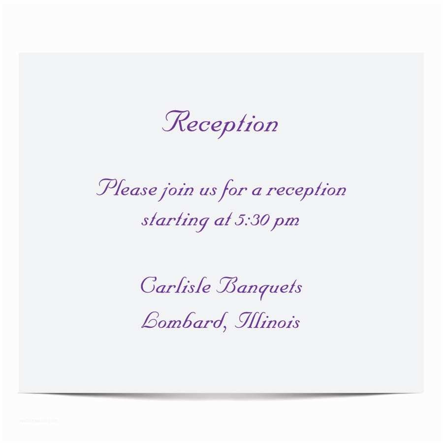 Wedding Reception Invitation Templates Marriage Reception Invitation Model Various Invitation