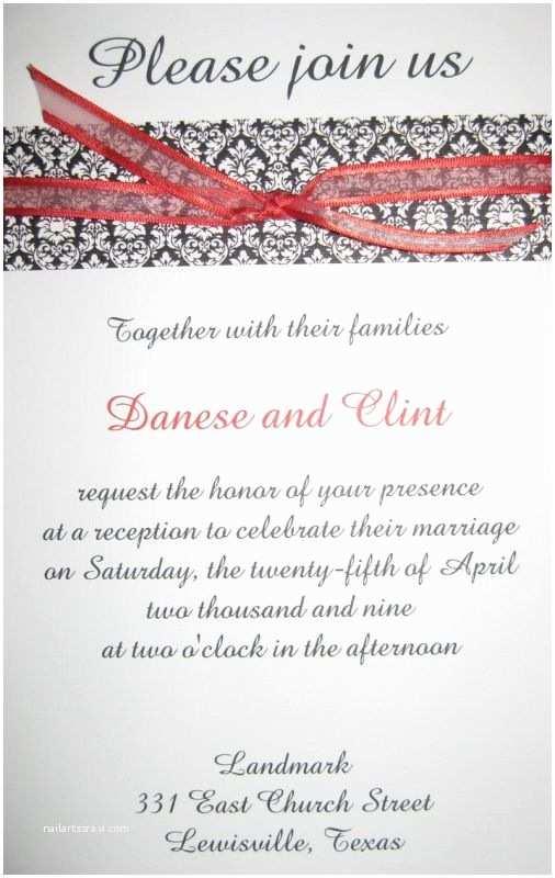 Wedding Reception Invitation Wedding Reception Invitations 2014 2015